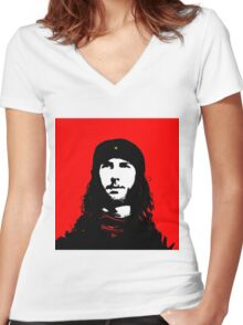 Me - Che Guevara Style Women's Fitted V-Neck T-Shirt