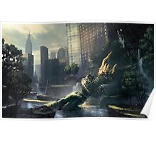 Crysis - New York Landscape Poster