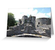 Beaumaris Turrets Greeting Card