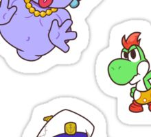 Paper Mario - TTYD Partners (Sticker Set) Sticker