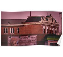 Antique Architecture With Mural Poster