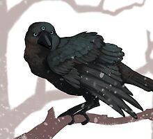 The Three Eyed Crow by Dailen Ogden