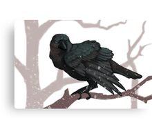 The Three Eyed Crow Canvas Print