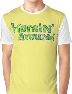 Horsin' Around Vintage T-shirt  Graphic T-Shirt