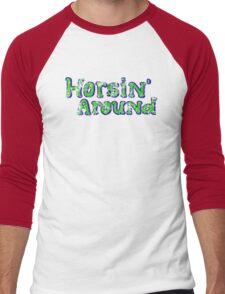 Horsin' Around Vintage T-shirt  Men's Baseball ¾ T-Shirt
