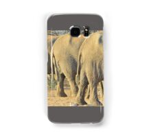 Elephant Diet Clinic - Funny African Wildlife Samsung Galaxy Case/Skin