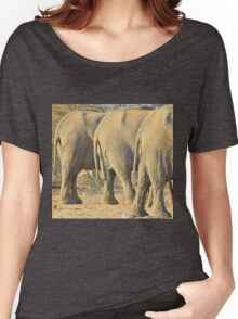 Elephant Diet Clinic - Funny African Wildlife Women's Relaxed Fit T-Shirt