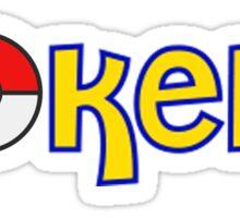 Pokelit Pokemon Sticker