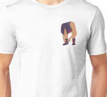 Lace Up! Purple Unisex T-Shirt