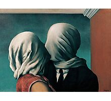 The Lovers by Rene Magritte Photographic Print