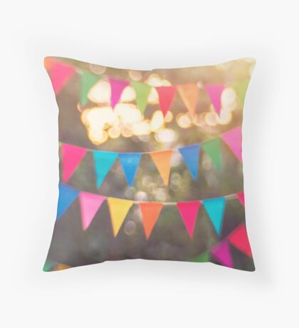 Let the celebrations begin! Throw Pillow