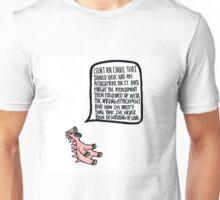 Anxiety-saur Unisex T-Shirt