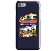 Attack on S. Street iPhone Case/Skin