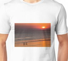 Surfers end of the day Unisex T-Shirt
