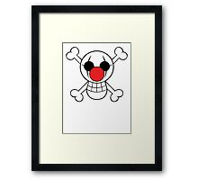 Buggy Jolly Rogger Framed Print