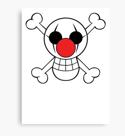 Buggy Jolly Rogger Canvas Print