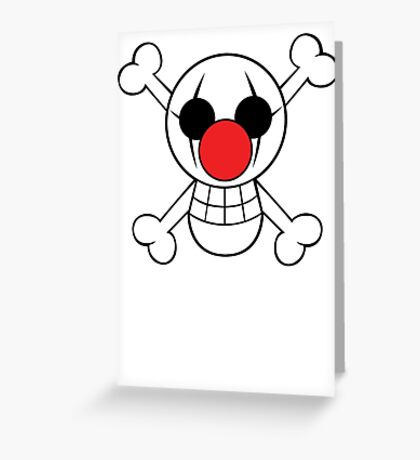 Buggy Jolly Rogger Greeting Card