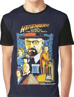 Heisenberg and the Empire of the Crystal Meth Graphic T-Shirt