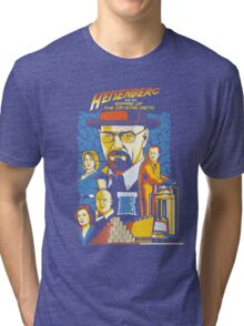 Heisenberg and the Empire of the Crystal Meth Tri-blend T-Shirt
