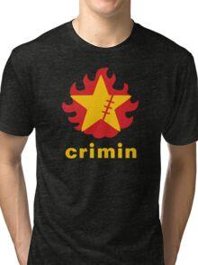 Crimin Brand Fire Star Tri-blend T-Shirt