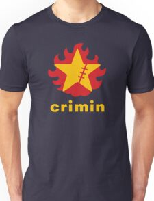 Crimin Brand Fire Star Unisex T-Shirt