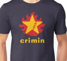 Crimin Brand Fire Star Unisex T-Shirt