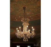A Chandelier by Louis Comfort Tiffany Photographic Print