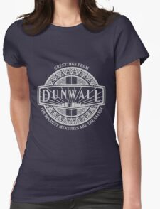 Greetings from Dunwall Womens Fitted T-Shirt