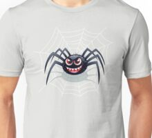 Smiling Wicked Spider Unisex T-Shirt