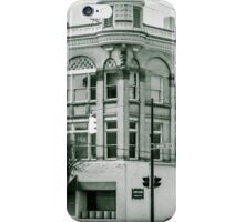 Old Commercial Building Main Street, Franklin, Ohio iPhone Case/Skin