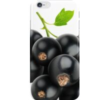 Black currants iPhone Case/Skin
