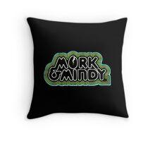 Mork and Mindy Throw Pillow