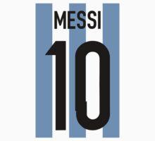 Lionel Messi  by refreshdesign