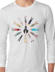 Retro Vintage Fashion 17 Long Sleeve T-Shirt