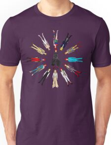 Retro Vintage Fashion 17 Unisex T-Shirt