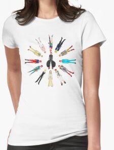 Retro Vintage Fashion 17 Womens Fitted T-Shirt
