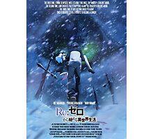 Poster - Re Zero Kara Hajimeru Isekai Seikatsu Photographic Print