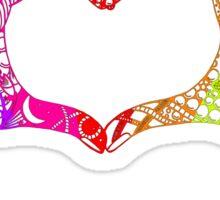 Above & Beyond Inspired Heart of Hands Sticker