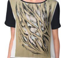 Feather pattern 5 Chiffon Top