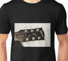 Gibson Guitar Headstock Photograph Unisex T-Shirt