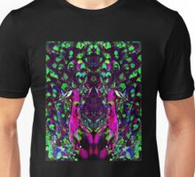 Psychedelic Peacock, digital altered Unisex T-Shirt