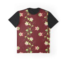 Floral red pattern Graphic T-Shirt