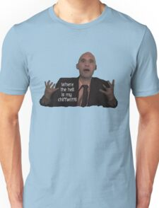 Project Runway Andrae Gonzalo:  Where the Hell is my Chiffon? Unisex T-Shirt