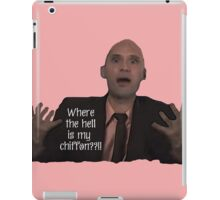 Project Runway Andrae Gonzalo:  Where the Hell is my Chiffon? iPad Case/Skin