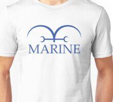 Marine White Flag Unisex T-Shirt