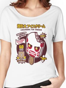 Colossal Ice Cream Women's Relaxed Fit T-Shirt