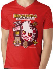 Colossal Ice Cream Mens V-Neck T-Shirt