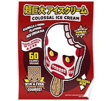 Colossal Ice Cream Poster