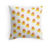 Candy Corn Mania Throw Pillow