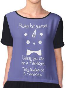 Be A Pandicorn Be Yourself Chiffon Top